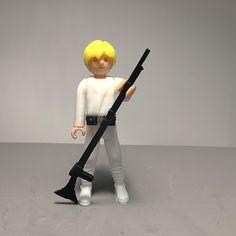 Luke Skywalker mini figure ready for Print. Luke Skywalker, 3d Printing, Have Fun, Printables, Toys, Mini, Impression 3d, Activity Toys, Print Templates