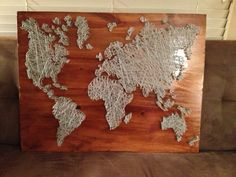 World String Art - over 1,000 nails! Commissioned by my dear friend Katie for her precious baby boy, Jude!