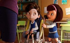 The short animated film Cuerdas – the story of a friendship between orphan Maria and her new classmate Nicolàs, who has cerebral palsy – has already had considerable success. Not only has its director and screenwriter Pedro Solis, from Guadalajara. Movie Talk, Cerebral Palsy, Human Connection, Teaching Spanish, Spanish Lessons, Teaching Materials, Learning Resources, Fun Learning, Teaching Ideas