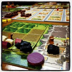 Caverna by Lookout Games Photo by: @SHeartsOrRivals youtube.com/sweetheartsorrivals