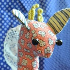 Handmade stuffed giraffes! All unique. Check out Aftcra.com to buy handmade!