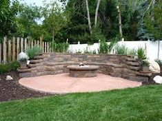 Image result for seating in retaining walls
