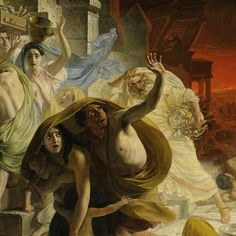 Karl Briullov | The Last Day of Pompeii, 1830-33 | Tutt'Art@ | Pittura * Scultura * Poesia * Musica |