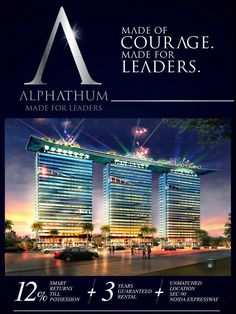 Alphathum simply defines the tremendous talent and vision of Bhutani Infra Group. The site is positioned in the close proximity of Noida Expressway.