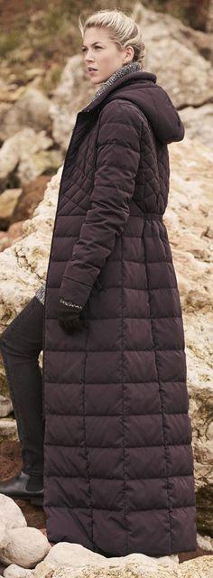 Lightweight Padded Maxi Coat