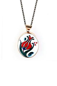 Pomegranates, Armenia, Pottery, Clay, Pendant Necklace, Embroidery, Model, Jewelry, Diy Kid Jewelry