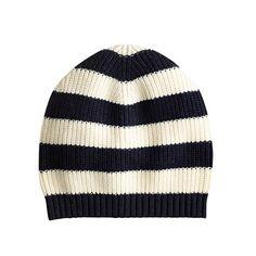 J.Crew - Stripe beanie:*✧♥נк∂