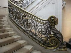 Ornate staircases ...maybe one day...