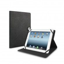 Capa Tablet 10 Polegadas Muvit - Función Suporte Preta Logo Plateado  R$102,83