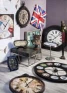 Reloj pared very british 90x90 #relojes #british clocks #deco #watches