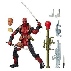 X-Men Marvel Legends Deadpool Action Figure Oh man, it's the merc with a mouth! The X-Men Marvel Legends Deadpool Action Figure. Marvel Legends Deadpool, Hasbro Marvel Legends, Marvel Legends Series, Deadpool Series, Deadpool Action Figure, Star Wars Action Figures, Marvel Comic Books, Comic Book Heroes, Marvel Characters
