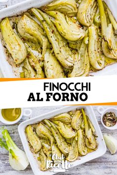 Finocchi al forno Side Recipes, Vegetable Recipes, Vegetarian Recipes, Healthy Recipes, Italian Dishes, Italian Recipes, Easy Cooking, Cooking Recipes, My Favorite Food