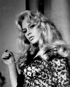 Brigitte Bardot by Peter Basch in 1956.