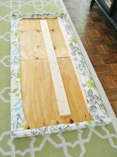 How to make a padded headboard