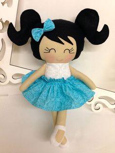 Handmade Dolls Soft Doll Cloth Handmade Dolls by SewManyPretties, $46.00