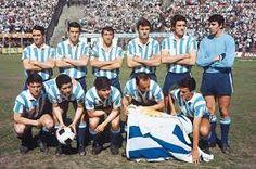 Racing Club de Avellaneda Campeón Copa Intercontinental 1967. Racing Club 1 - Celtic 0. 4/11/1967. Estadio Centenario, Montevideo, Uruguay.