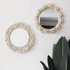 Style And Design Your Individual Enterprise Playing Cards In The Home Round Macrame Mirrors Original Wall Hangings Bohomian Chic Home Decor Diy Macrame Wall Hanging, Macrame Mirror, Tapestry Wall Hanging, Wall Hangings, Diy Mirror, Wall Mirror, Maker, Tapestry Weaving, Organizer