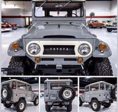 Early FJ40 Land Cruiser ! Icon 4x4
