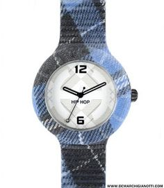 Hip Hop orologi Tartan modello hwu0378 www.demarchigianotti.com