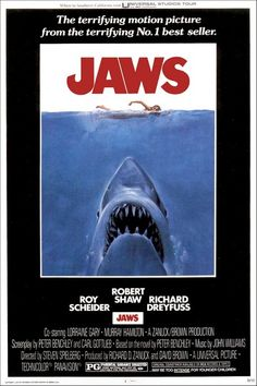 "Jaws  |1975 |  ""...I am familiar with the fact that you are going to ignore this particular problem until it swims up and BITES YOU ON THE ASS!"""