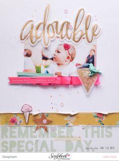 Layout mit Maggie Holmes - Crate Paper Confetti von Ulrike Dold