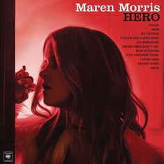 Maren Morris Hero on LP Hero is the major label full-length debut from singer songwriter and Texas native Maren Morris. She co-wrote all eleven songs that make-up Hero and shared the production duties