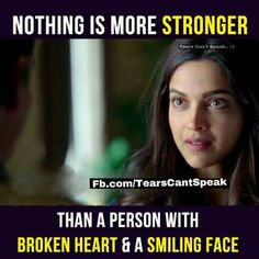 Srsly ... Nothing is more stronger than this :(, then  im  the strongest