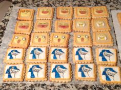 galletas de mantequilla decoradas Cooking Time, Sugar, Times, Cookies, Desserts, Food, Tailgate Desserts, Biscuits, Meal