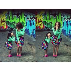 Mother and daughter same outfit .mom like daughter Mother Daughter Matching Outfits, Mommy And Me Outfits, Daughter Love, Baby Outfits, Daughters, Said Mhamad Photography, Bella Dresses, Matches Fashion, Mini Me