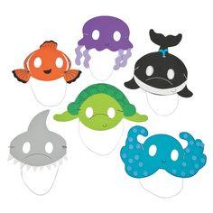 Ocean+Animal+Mask+Craft+Kit+-+OrientalTrading.com