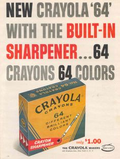 I remember having this set when I was young.  Loved the sharpener!