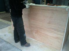 Finishing panels Hardwood Floors, Flooring, It Is Finished, Store, Wood Floor Tiles, Tent, Shop Local, Larger, Wood Flooring