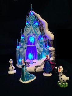 Department 56 Disney's Frozen Village Set Palace |