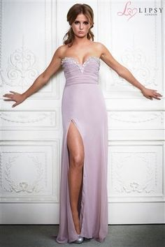Enlarge Lipsy VIP Thigh Split Maxi Dress (these are all bridesmaid Lipsy Dresses, 15 Dresses, Stylish Dresses, Elegant Dresses, Sexy Maxi Dress, Maxi Dress Wedding, Strapless Dress Formal, Lace Maxi, Vip Dress