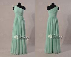 Long Mint bridesmaid dresses,Long Vintage Mint Green Dress,Chiffon bridesmaid dress Formal,Mint Wedding Party Dress,Women Dresses(BM032230L) on Etsy, $99.00