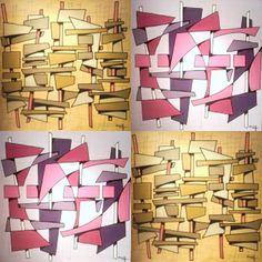 "Painéis da série ""Palafitas"", Mar cos Wolff, 2005-2006.  Priscila Vannucchi & Marcos Wolff Objetos de Arte | site: www.pvmw.com | facebook: facebook.com/lojapvmw | instagram: instagram.com/pvmw.objetos.de.arte #pvmw #lojapvmw #design #art #arte #toyart #sp #ceramics  #urbanart #saopaulo #brazil #architecture #trend #painel #acrylic #paintings #palafita #contemporaryart"