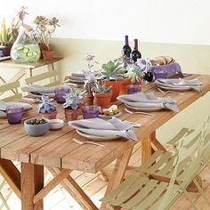 Summer Party Idea: Dinner on the Deck