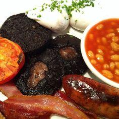 Big day ahead. Muesli won't cut it. Breakfast at Hoxton Grill.