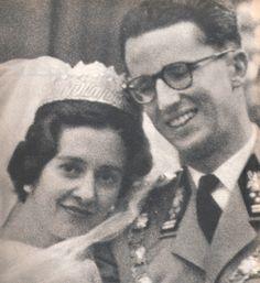 <3 roi Baudouin et la reine Fabiola 1960 (paris match )