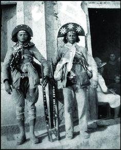 Cangaceiros Gitirana e Chofreu.