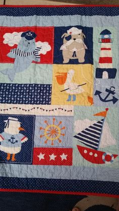 Nautical Crib, Sailboat Crib, Lighthouse Crib, Boy Crib Bedding,Beach Theme Crib, Boat Crib Theme Ocean Crib Quilt, Bulldog Crib Quilt, Sailboat, Gender Neutral, Sailor, Anchor Crib Quilt, Ships. This is an adorable gender neutral seaside/ocean/beach themed quilt that would make a perfect addition for that couple desiring a neutral baby theme -- and bright fun colors with lots of activity. This quilt was quilted in my home studio in Hershey, PA where you can smell chocolate being made…