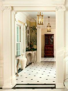 Nice for a foyer floor. The Foo Dog Ate My Homework