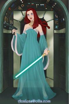 Star Wars Ariel by KiyomiDawson ~ Azalea's Dress Up Dolls