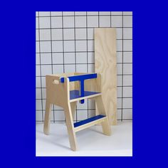 Playful low kids chair that suit the smallest. Here in nice blue like the sky. House Drawing, Scandinavian Design, Suit, Traditional, Chair, Nice, Inspiration, Furniture, Modern