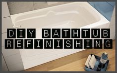 How To Restore and Refinish A Tub - Bathtub Refinishing