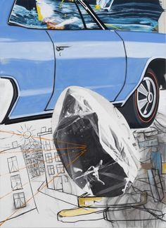 David Salle at Lehmann Maupin. #ContemporaryArt #Art contemporain #Arte…