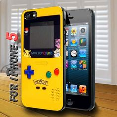 Pokemon Game Boy Color design for iPhone 5 Case | shayutiaccessories - Accessories on ArtFire