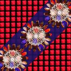RED SQUARES, Holy Purple Sparkle Infinity Jewels Red Squares N Chakra Art Decorations Artist Created Images Text