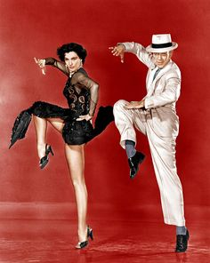 Cyd Charisse who changed her name from Tula Finklea and Fred Astaire born Frederick Austerlitz