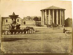 Tempio di Vesta Circa 1875
